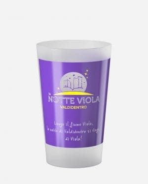 Amico bicchiere 300 ml Notte Viola