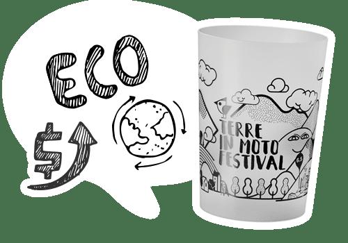 Amico Bicchiere Bicchieri Ecosostenibili