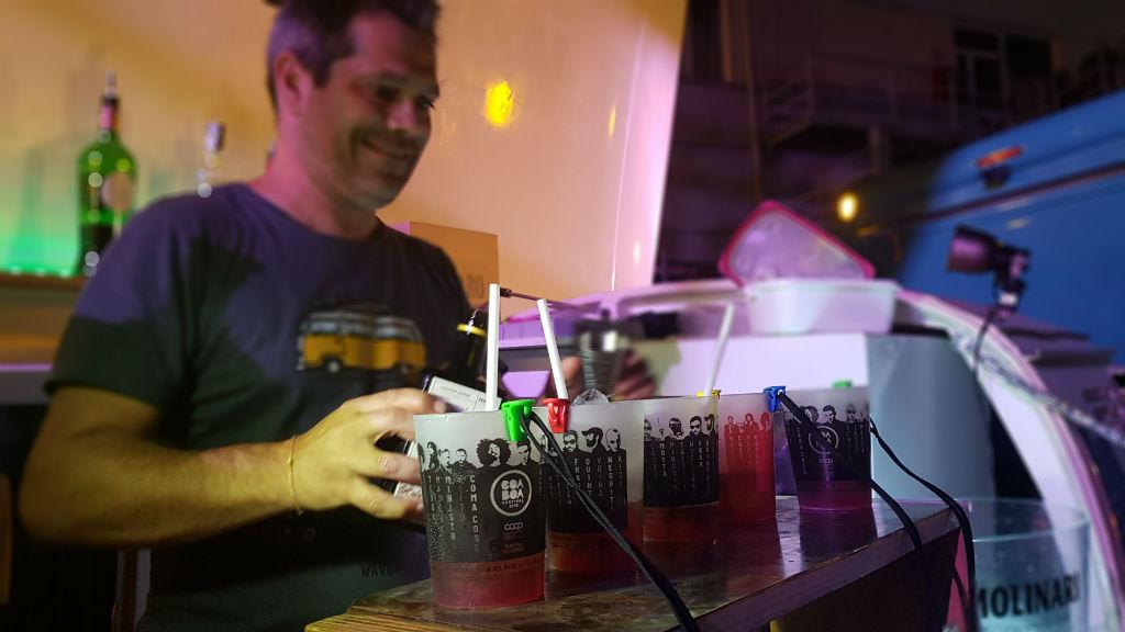Bicchieri di plastica personalizzati per cocktails