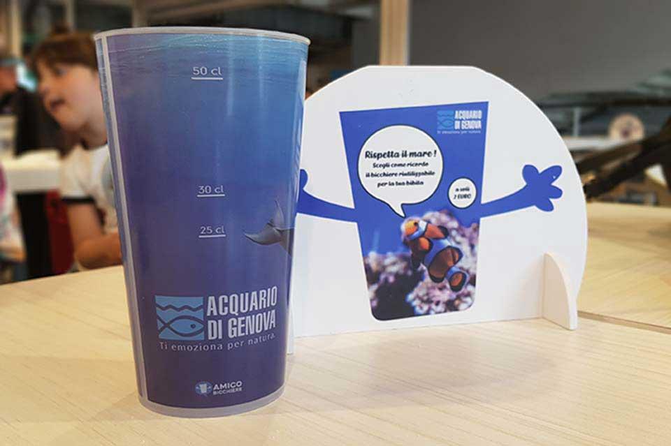 amico-bicchiere-riutilizzabili-personalizzabili-eventi-acquario-genova